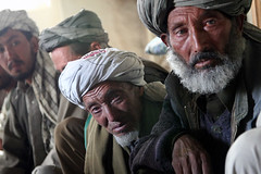 Hazara villagers meeting by Afghan LORDّ