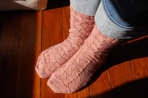 Shellac Socks, take one