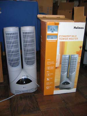 Holmes portable heater $50