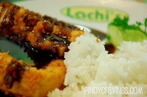 Breaded Tofu Lachi's Sans Rival Atbp
