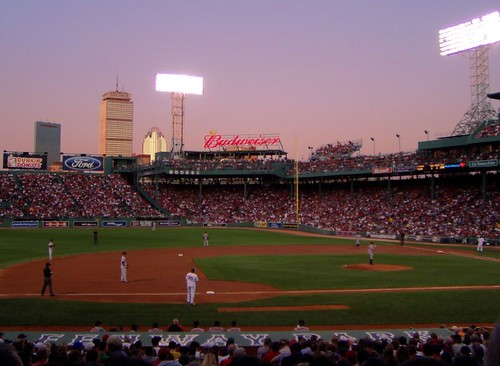 Evening at the ballpark