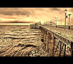 North Pier Sepia (mliebenberg) Tags: hdr hdrphotography hdrphotos markliebenberg markliebenbergphotography