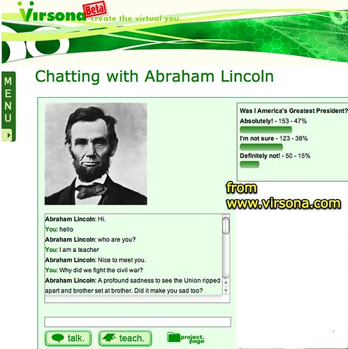 Chatting with Abraham Lincoln