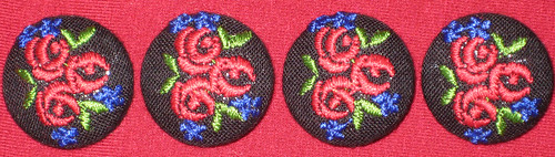 fleur buttons