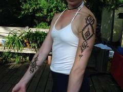 katie sept. 14 '08 (henna.elements) Tags: arm henna shoulder mehndi