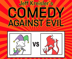 Comedy Against Evil Short Flyer