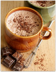 hot cocoa (C.Mariani) Tags: autumn hot cold rain vintage season milk october warm pieces flavor drink sweet chocolate rustic beverage relaxing powder cups cocoa indulgence whisk calories mycreation
