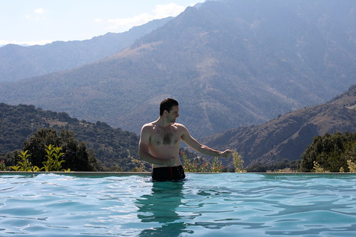 Paul in the Pool
