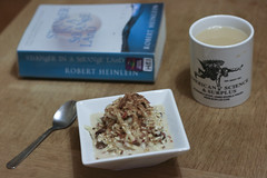 Breakfast: Bircher, Book and Rooibos
