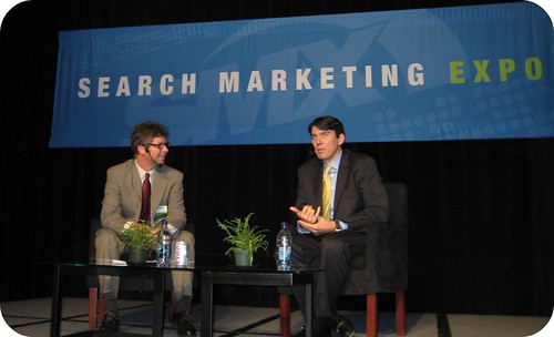 Keynote with Google's Tim Armstrong at SMX East