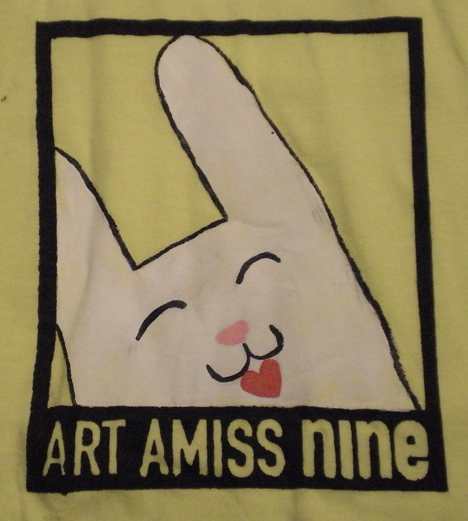 Art Amiss 9 t-shirt, Jessica Ramirez