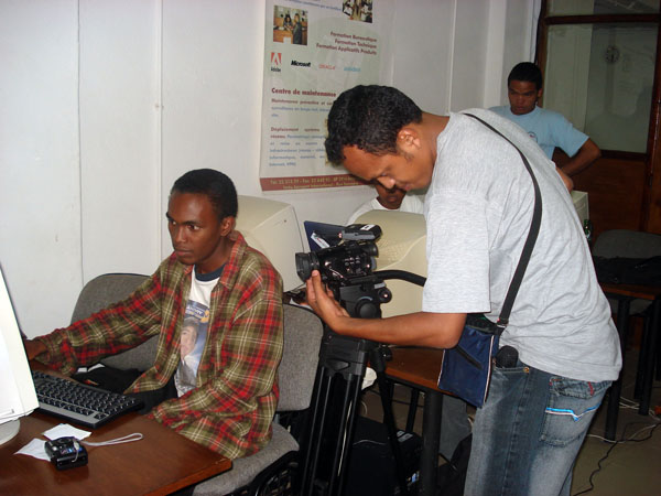 Ando Ratovonirina, reporter for RTA killed on Feb, 7th  (image from Foko-Madagascar)