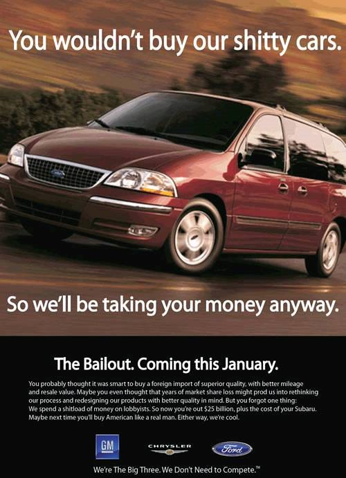Big3 Bailout Ad