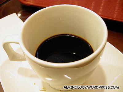The final coffee