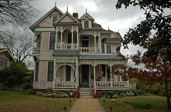 Williams-Erwin House (stevesheriw) Tags: texas elliscounty waxahachie 412wmarvin victorian eastlake architecture williamserwinhouse house 1893 edwardwilliams rkerwin nationalregisterofhistoricplaces 78002926 design georgefbarber