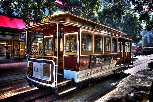 San Francisco - Cable Car HDR