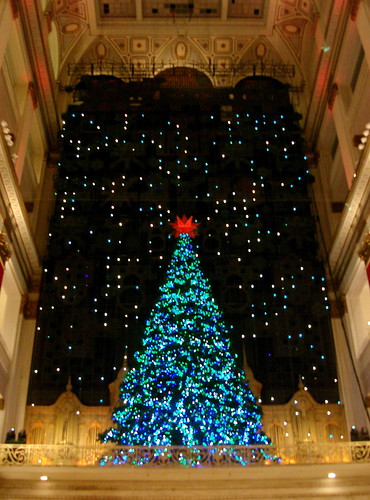 Christmas in Philadelphia - Macy's Light Show in Center City