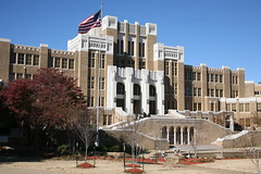 Little Rock Central High School (cliff1066) Tags: school black history monument memorial ar nps littlerock places landmark historic civil rights africanamerican arkansas nationalparkservice crisis nationalmonument integration preservation northlittlerock segregation nationalhistoricalpark centralhighschool historicalpark centralhigh nationalmemorial nationalhistoriclandmark nationalhistoricsite publicschools pulaskicounty littlerocknine civilrightsmovement littlerockcentralhighschool racialsegregation blackstudents desegregate nationalbattlefieldsandmilitaryparksoftheunitedstates