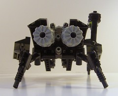 Deathwatch (Rear) (waferthinninja) Tags: robot lego beetle mecha mech deathwatch