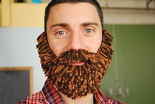 faux beard