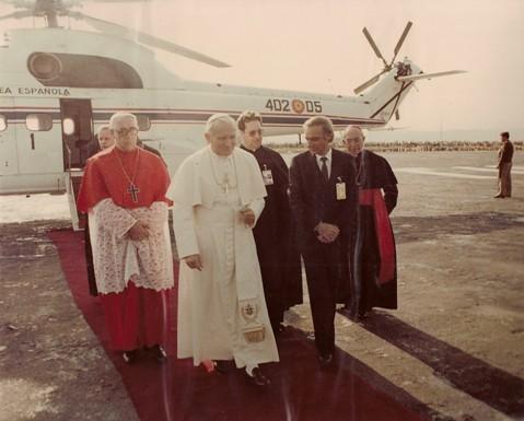 Juan Pablo II en Toledo. 4 de Noviembre de 1982.