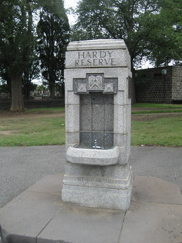 Hardy Reserve Drinking Fountain, Carlton