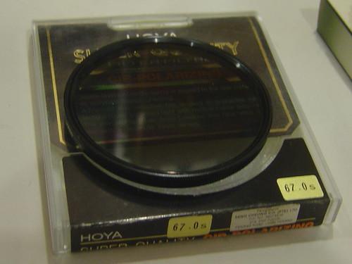 Hoya 67mm SuperQuality Circular Polarizing filter