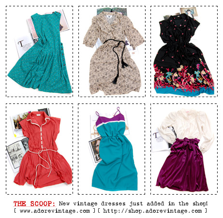 Vintage Dresses at Adorevintage.com