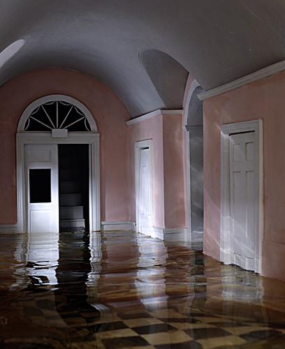 Casebere Pink Hallway 2000