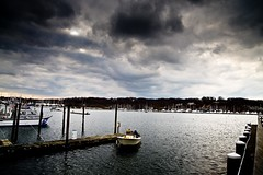 huntington harbour, long island