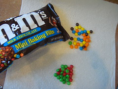 Seperating the m&m's
