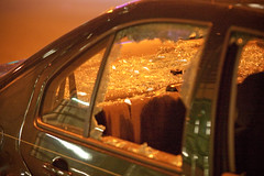Vandalism, Oakland Riots (Thomas Hawk) Tags: california usa america oakland riot unitedstates unitedstatesofamerica protest bart eastbay riots downtownoakland bartpolice oscargrant oaklandriot oaklandriot2009 oaklandriots2009 oscargrantriots oaklandriots