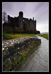 Laugharne Castle (Sean Bolton (no longer active)) Tags: castle wales carmarthenshire cymru wfc laugharne welshflickrcymru wfclaugharne2009