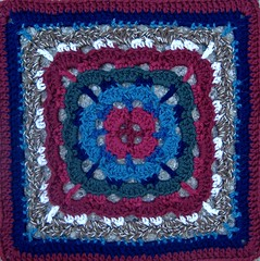 craftster block 1 - esther - 12""