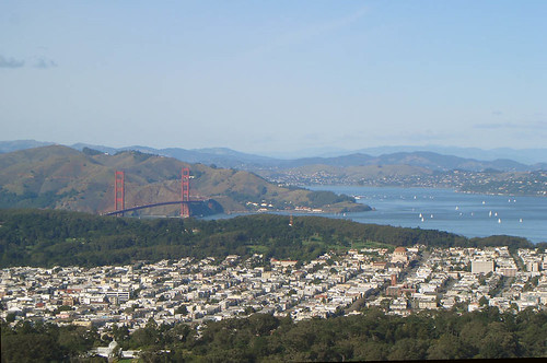 San Francisco from the tower by | El Caganer.