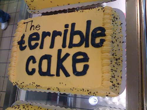 The Terrible Cake (Take 2)