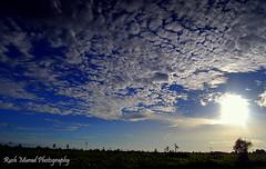 Bright Afternoon in Miri (Rush Murad) Tags: blue sea sun clouds skies bright miri sarawak malaysia borneo tropic rays