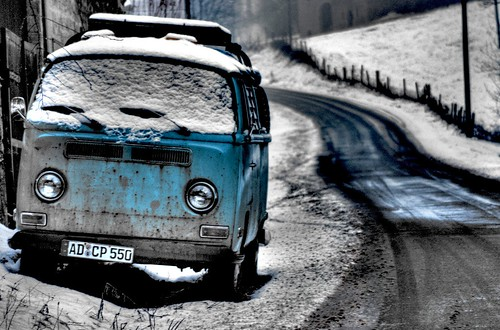 VW ON SNOW by cengizkarakus