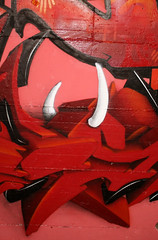 red (mrTosh) Tags: roma writing graffiti crew tosh tlm orma cornuto