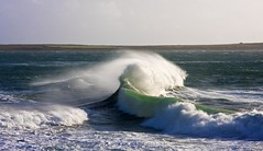 Another Sunday, another storm (ronstrathdee) Tags: storm waves stormy coastal isleofman castletown therebeastormabrewin