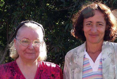 Luise de Muci y Luz Maria