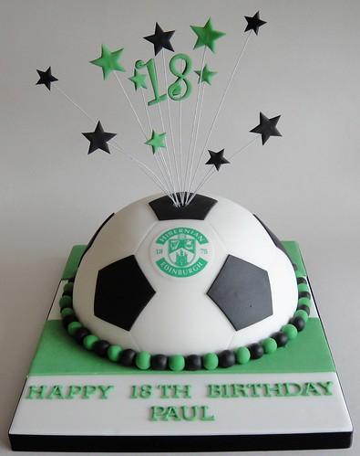 Hibs Football Cake