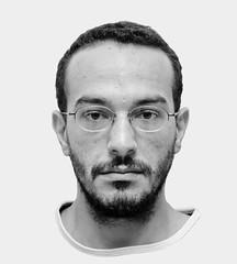 """Andr Luiz Retratado (""""Luciano Marques"""") Tags: portrait retrato irmo grayscale andrluiz"""
