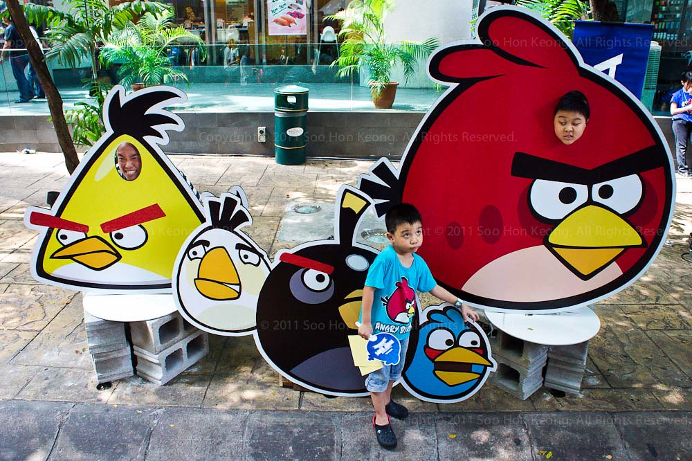World Biggest Angry Bird PlayGround @ KL, Malaysia