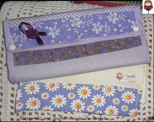 Pra quem gosta de roxinho e lilás!! by Coisando as Coisas by Clau