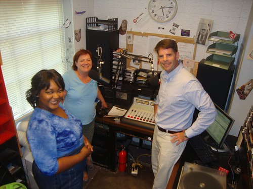 Angelique Feaster, Carolyn Manning, Oliver Jenkins, Shreveport, KSCL Fm by trudeau