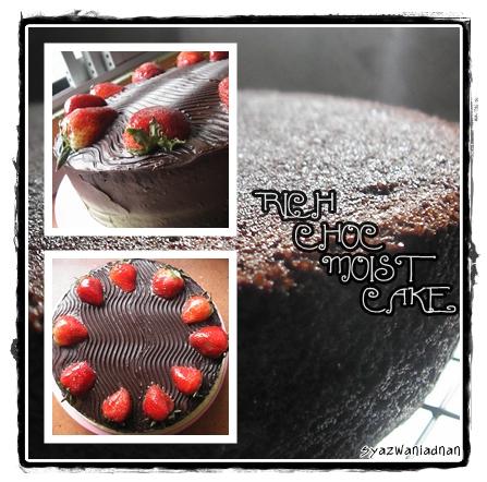 Rich Choc Moist Cake