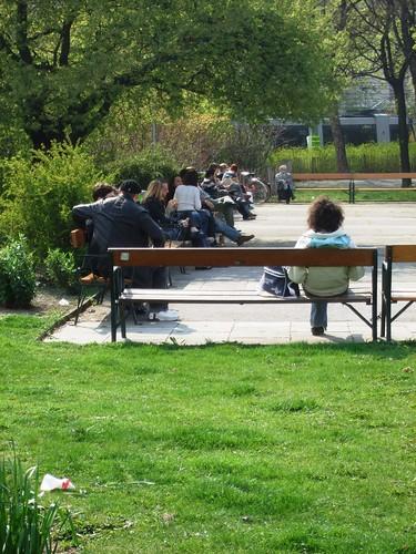 Park near Votivkirche