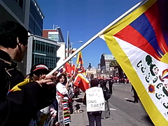 Olympic Torch Run in San Francisco (Scott Beale) Tags: sanfrancisco china rally protest tibet olympics freetibet olympicgames olympictorch 2008olympicgames 2008olympics beijing2008olympicgames sftorch olympictorchrun