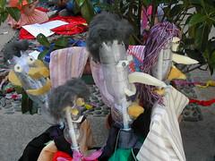 Le marionette del riciclo (segnieimpronta) Tags: bambini marionette riciclo progettididattici